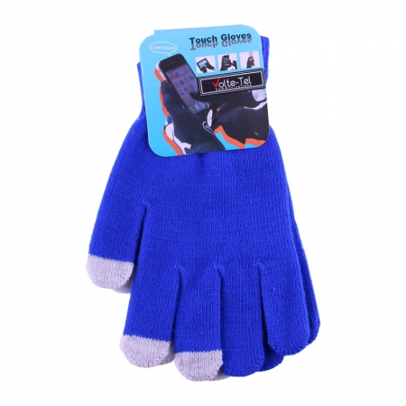 WINTER GLOVES TOUCH SCREEN BLUE...