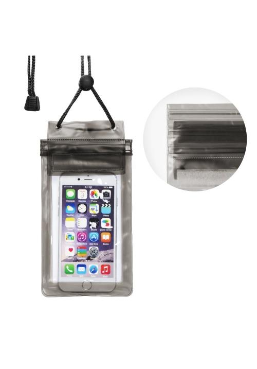 Θήκη για Smartphone Waterproof Bag with Zipper Closing Black