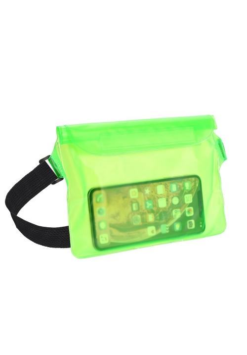 Θήκη για Smartphone Waterproof Bag with Belt Clip Green
