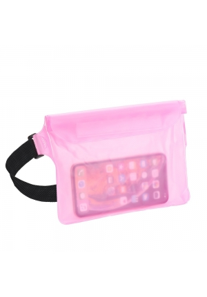 Θήκη για Smartphone Waterproof Bag with Belt Clip Rose