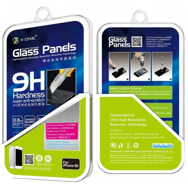 TEMPERED GLASS 9H X-ONE FOR APPLE IPHONE 13 MINI 5.4''