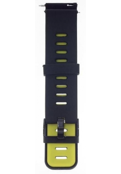 XIAOMI REPLACEMENT BRACELET FOR AMAZFIT PACE / AMAZFIT 2 STRATOS BLACK YELLOW ACC184