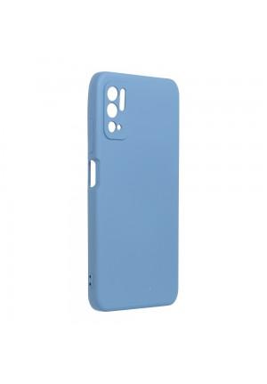 ΘΗΚΗ ΓΙΑ XIAOMI REDMI NOTE 10 5G/POCO M3 PRO 4G/5G  FORCELL SILICONE LITE BLUE