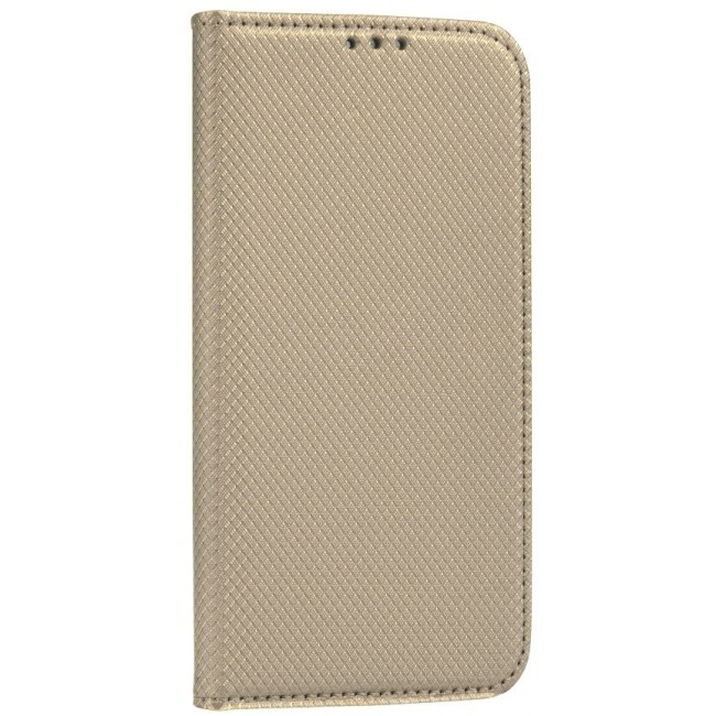 ΘΗΚΗ ΓΙΑ SAMSUNG GALAXY A41 SMART BOOK CASE GOLD (5903396057335)