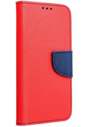 ΘΗΚΗ ΓΙΑ SAMSUNG GALAXY M11 FANCY BOOK CASE RED/NAVY