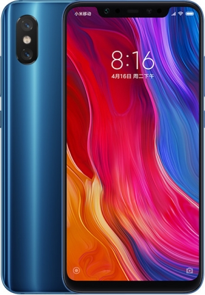 XIAOMI MI 8 64GB 6GB DUAL BLUE EU M1803E1A
