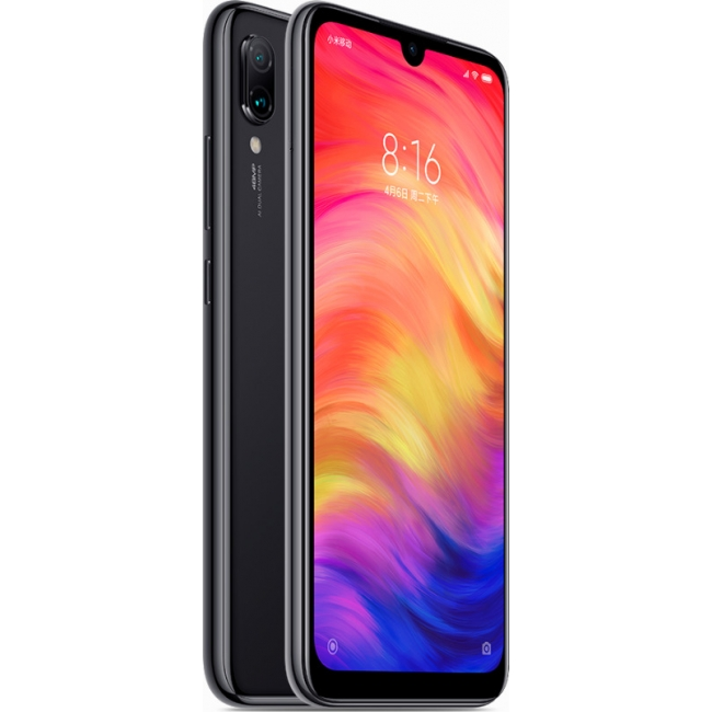XIAOMI REDMI NOTE 7 128GB DUAL BLACK EU