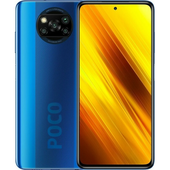 XIAOMI POCOPHONE X3 64GB DUAL 6GB NFC COBALT BLUE EU M2007J20CG