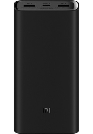 POWER BANK XIAOMI MI 3 PRO 20000 mAH BLACK (VXN4254GL)
