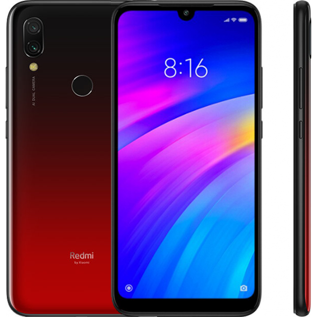 XIAOMI REDMI 7 32GB DUAL RED EU M1810F6LG