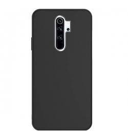 Θήκη για Xiaomi Redmi Note 8 Pro Tpu Liquid Silicone Black