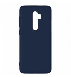 Θήκη για Xiaomi Redmi Note 8 Pro Tpu Liquid Silicone Midnight Blue