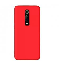 Θήκη για Xiaomi Mi 9T /9T Pro Tpu Liquid Silicone Red