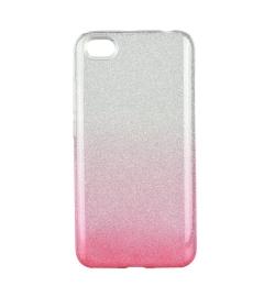 Θήκη για Xiaomi Note 5a Forcell Shining Clear/Pink