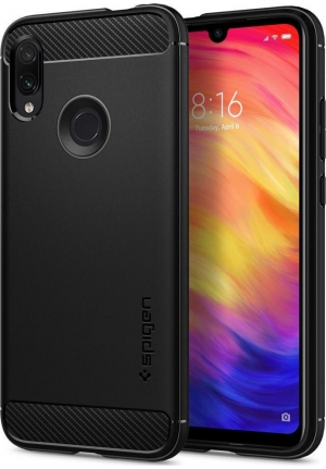 Θήκη για Xiaomi Redmi Note 7 Spigen Rugged Armor Black (S34CS26086)