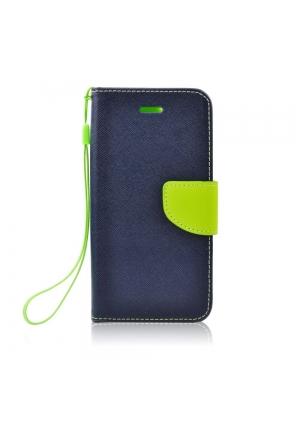 Θήκη για Xiaomi Redmi Note 7 Fancy Book Navy Lime