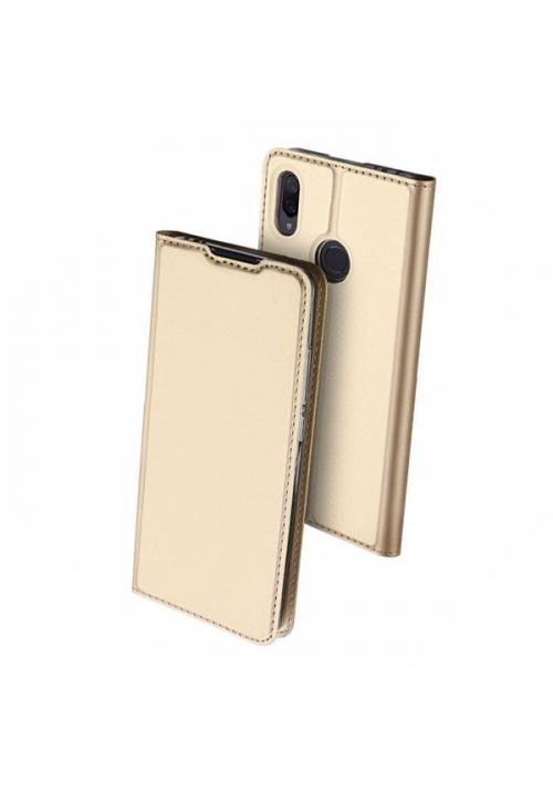 Θήκη για Xiaomi Redmi Note 7 Book DD Skin Pro Gold