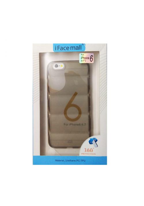 Θήκη για Apple Iphone 6/6S Tpu Facemail Grey