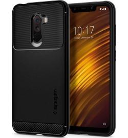 Θήκη για Xiaomi Pocophone F1 Spigen Rugged Armor Black (S23CS25224)