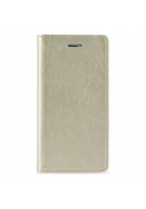 Θήκη για Xiaomi Redmi 7A Senso Leather Book Gold SELXIAR7AG