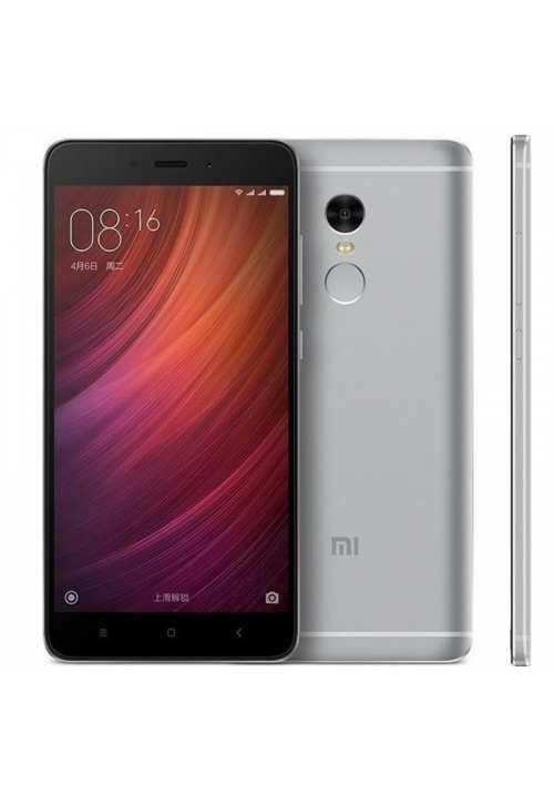 XIAOMI REDMI NOTE 4 64GB 3GB RAM DUAL GREY (MEDIATEK) (ΜΕ ΑΝΤΑΠΤΟΡΑ)