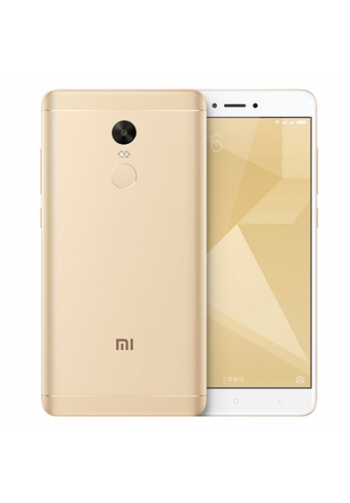 XIAOMI REDMI NOTE 4X 64GB DUAL GOLD (SNAPDRAGON) (ΜΕ ΑΝΤΑΠΤΟΡΑ)