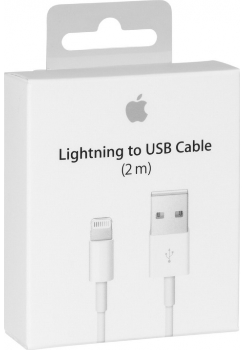 Apple USB to Lightning Cable White 2m (MD819) Retail
