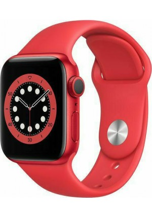 APPLE WATCH 6 44mm GPS RED/DEEP RED SPORT BAND M00M3 EU