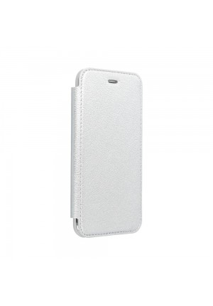 Θήκη για Apple Iphone 12/12 Pro Forcell Electro Book silver