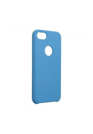 ΘΗΚΗ ΓΙΑ APPLE IPHONE 7/8/SE 2020 FORCELL SILICONE DARK BLUE WITH HOLE