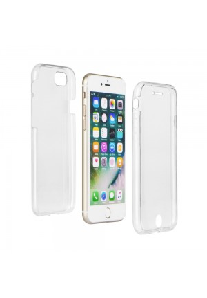 ΘΗΚΗ ΓΙΑ APPLE IPHONE 11 360 ULTRA SLIM FRONT & BACK CLEAR