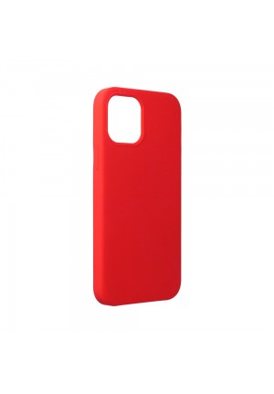 ΘΗΚΗ ΓΙΑ APPLE IPHONE 12/12 PRO FORCELL SILICONE RED