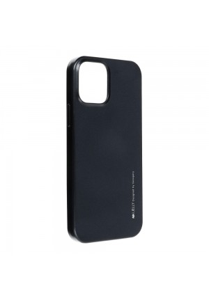 ΘΗΚΗ ΓΙΑ APPLE IPHONE 12/12 PRO I-JELLY MERCURY BLACK