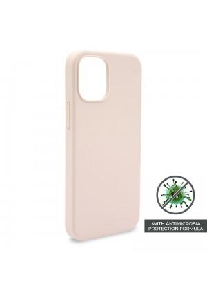 ΘΗΚΗ PURO ICON IPHONE 12 PRO MAX SILICONE ANTI-MICROBIAL COVER ROSE IPC1267ICONROSE