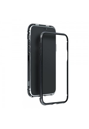 ΘΗΚΗ ΓΙΑ APPLE IPHONE 12/12 PRO MAGNETO BLACK