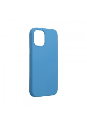 ΘΗΚΗ ΓΙΑ APPLE IPHONE 12 MINI FORCELL SILICONE DARK BLUE