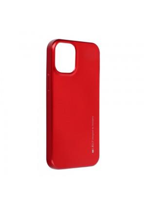ΘΗΚΗ ΓΙΑ APPLE IPHONE 12 MINI I-JELLY MERCURY RED