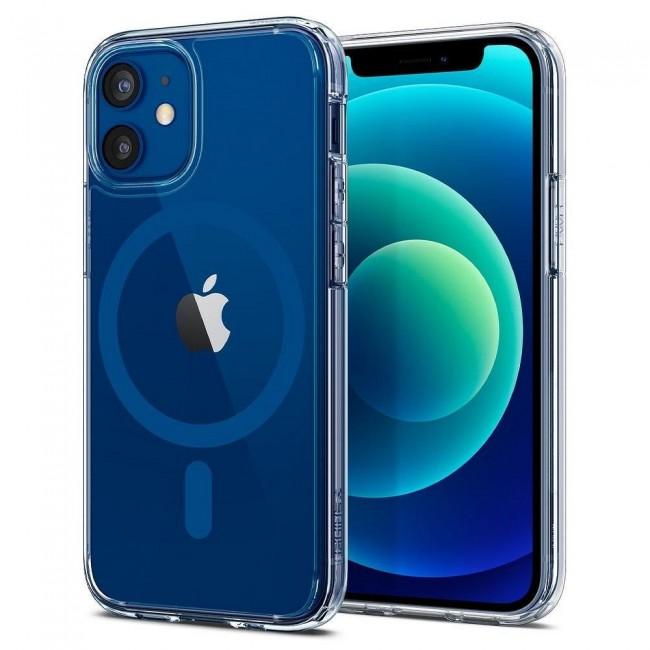 ΘΗΚΗ ΓΙΑ APPLE IPHONE 12/12 PRO SPIGEN ULTRA HYBRID MAG MAGSAFE BLUE ACS02627