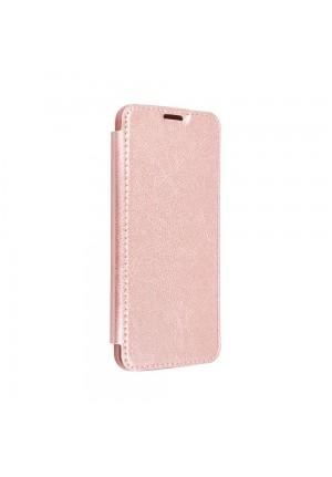 ΘΗΚΗ ΓΙΑ APPLE IPHONE 12 PRO MAX FORCELL ELECTRO BOOK ROSE GOLD
