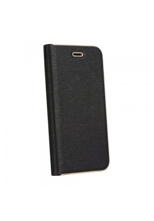 ΘΗΚΗ ΓΙΑ APPLE IPHONE 12/12 PRO LUNA BOOK BLACK