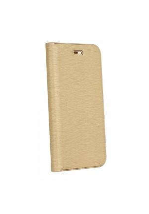 ΘΗΚΗ ΓΙΑ SAMSUNG GALAXY A22 4G FORCELL LUNA BOOK GOLD/GOLD