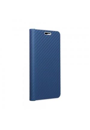 ΘΗΚΗ ΓΙΑ APPLE IPHONE 12 MINI FORCELL LUNA BOOK CARBON BLUE