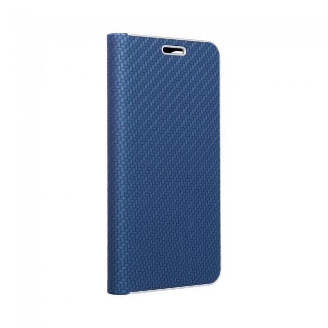 ΘΗΚΗ ΓΙΑ SAMSUNG GALAXY A72 4G FORCELL LUNA BOOK CARBON BLUE