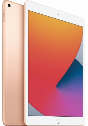 "APPLE IPAD 2020 10.2"" 32GB WiFi+LTE GOLD MYMK2FD/A (ΜΕ ΑΝΤΑΠΤΟΡΑ) EU"