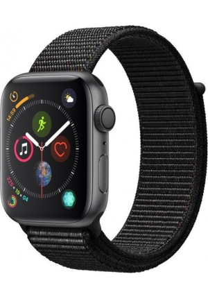 APPLE WATCH 4 40mm GPS GREY/BLACK SPORT LOOP MU672 EU