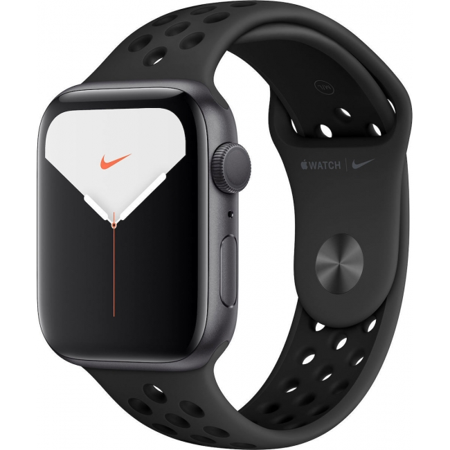 APPLE WATCH 5 NIKE 40mm GPS GREY ALUMINIUM CASE WITH SPORT BLACK (MX3T2)