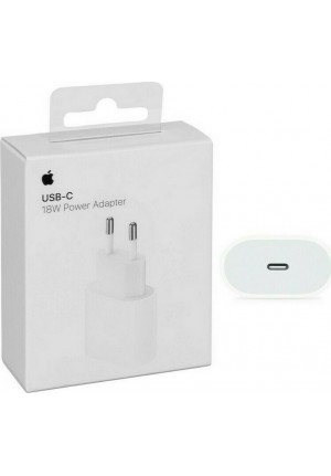 APPLE USB-C POWER ADAPTER 18W + EU PLUG MU7V2ZM/A ORIGINAL