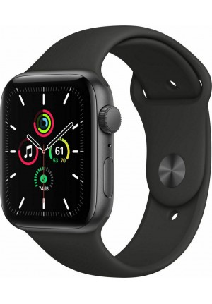APPLE WATCH SE 44mm GPS GREY/BLACK SPORT BAND MYDT2 EU