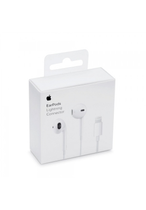 APPLE LIGHTNING EARPODS MMTN2 WHITE ORIGINAL RETAIL