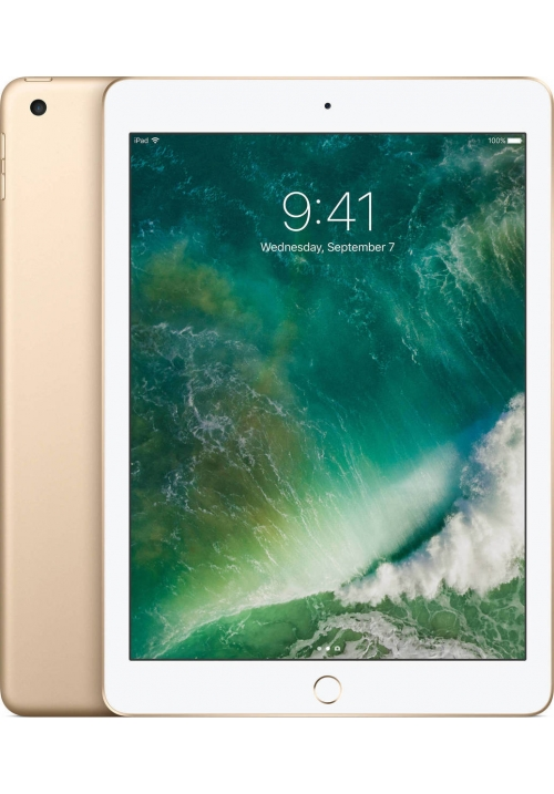 "APPLE IPAD 2017 9.7"" 128GB 4G GOLD (MPG52) (ΜΕ ΑΝΤΑΠΤΟΡΑ) EU"